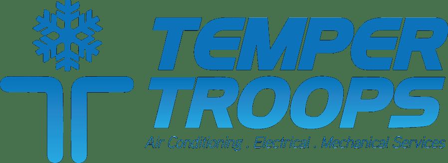 Temper Troops Logo