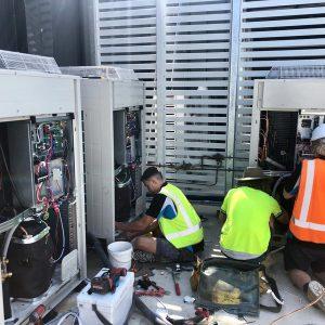 Air Conditioning Outdoor Unit at Oportos